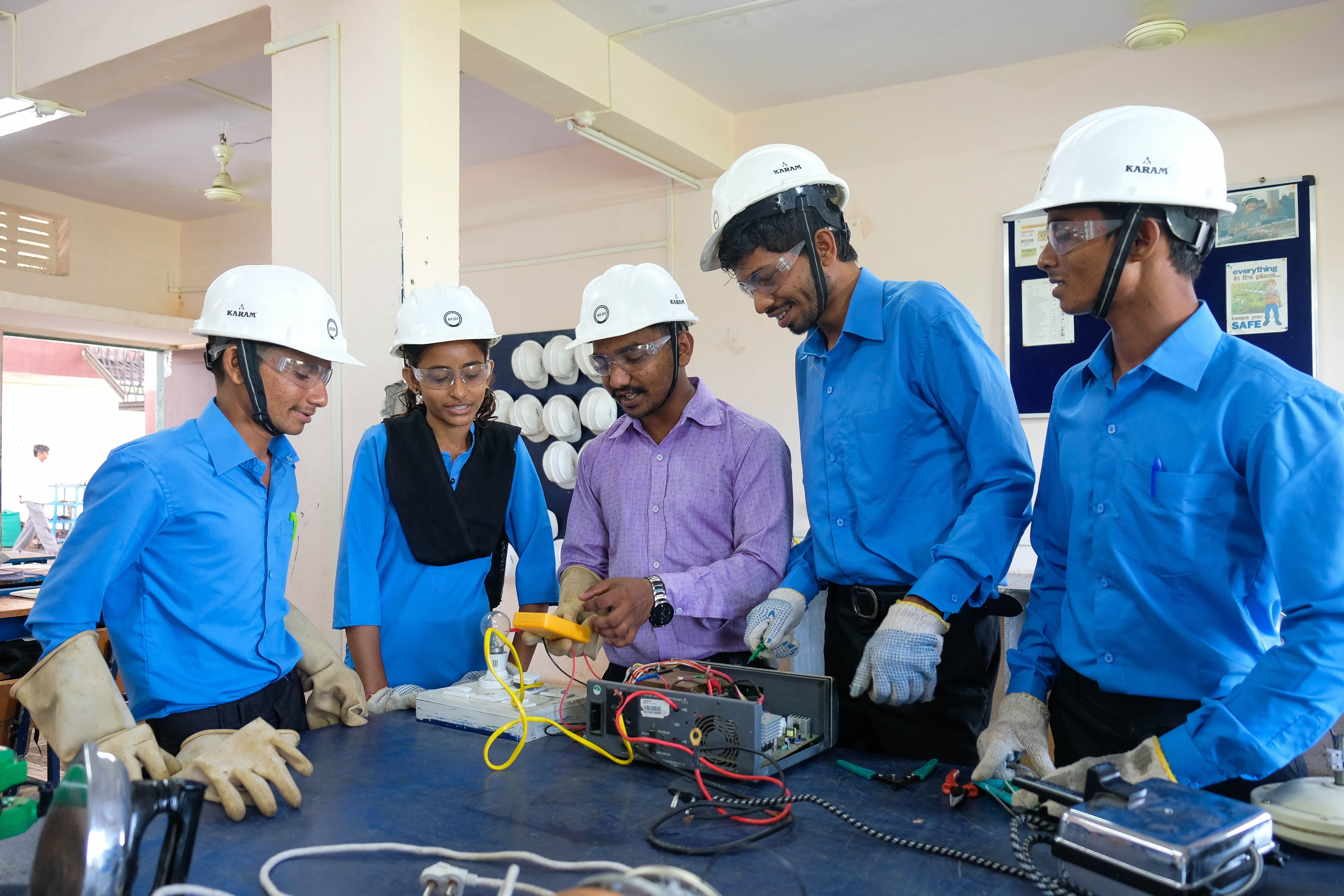 125 Youth to be trained in Electricals