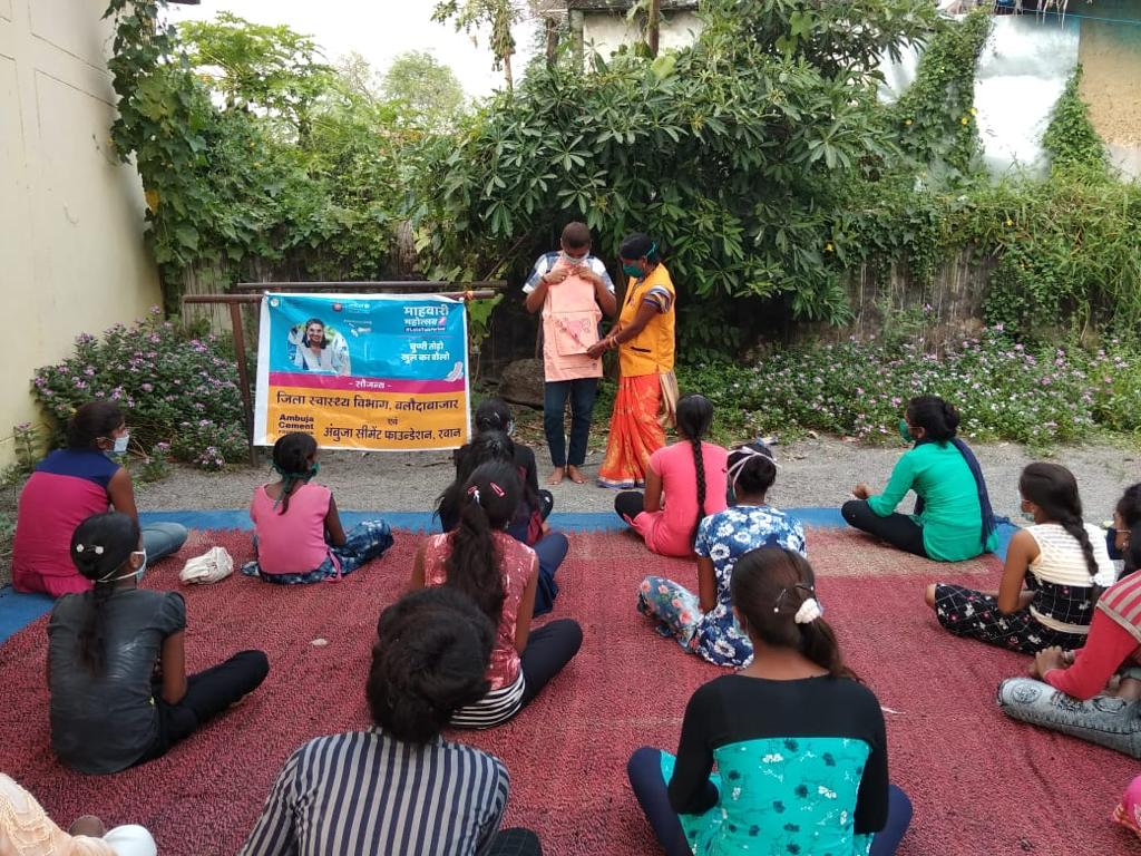 Menstrual Hygiene Management for Adolescent Girls