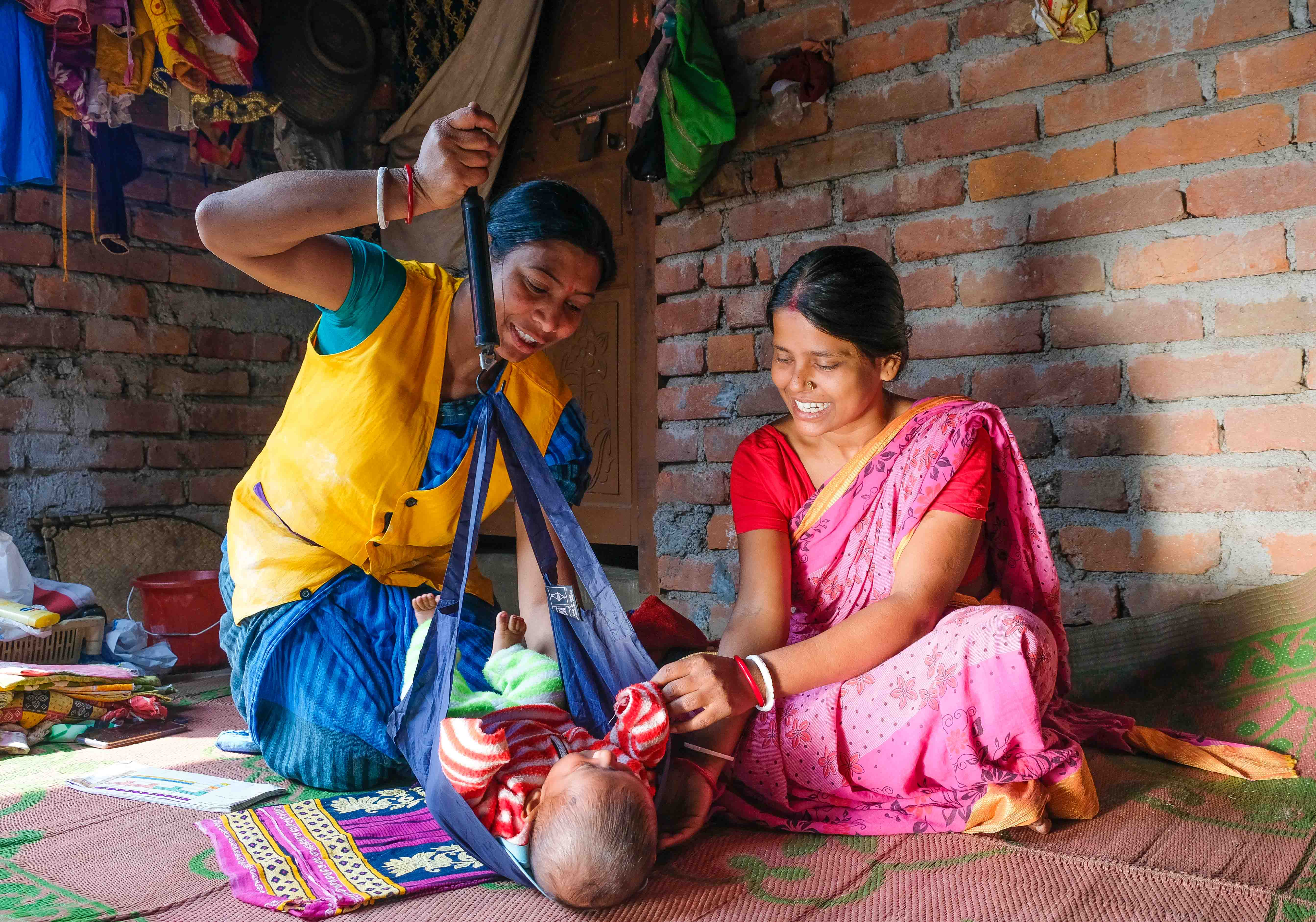 Working with Sakhis to deliver Maternal and Child Care in Rural India