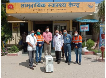 Taking Oxygen to Rural India