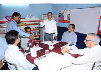 Narotam Sekhsaria visits ACF Chirawa