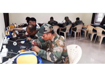Wounded 'Jawan's' Retrained by ACF