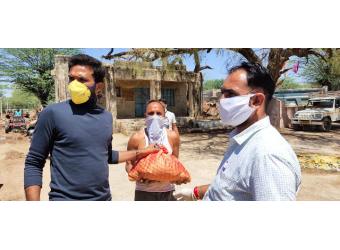 Ration Kits Support Vulnerable Communities
