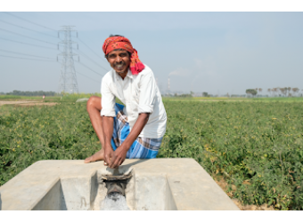 Lift Irrigation Featured in 'Village Square'
