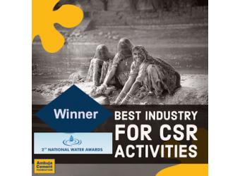 ACF Receives National Water Award - Jal Shakti Min...
