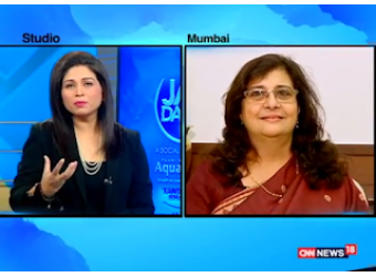 Pearl Tiwari on CNNs 'Jal Daan'
