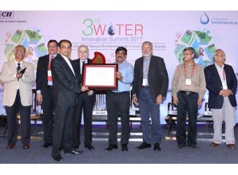 ACF Wins CII National Water Award