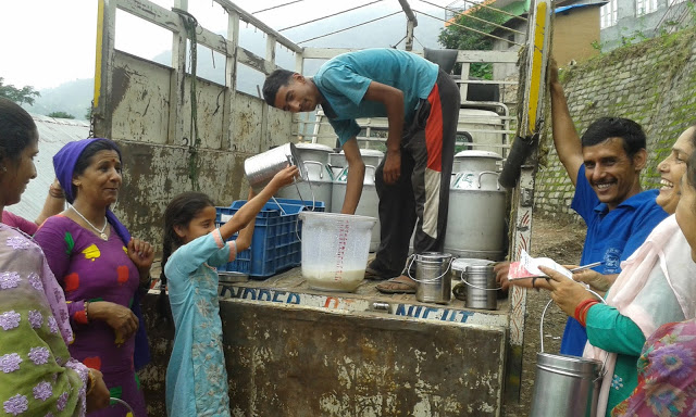 How ACF enabled women in Darlaghat to create a Milk Producing Cooperative